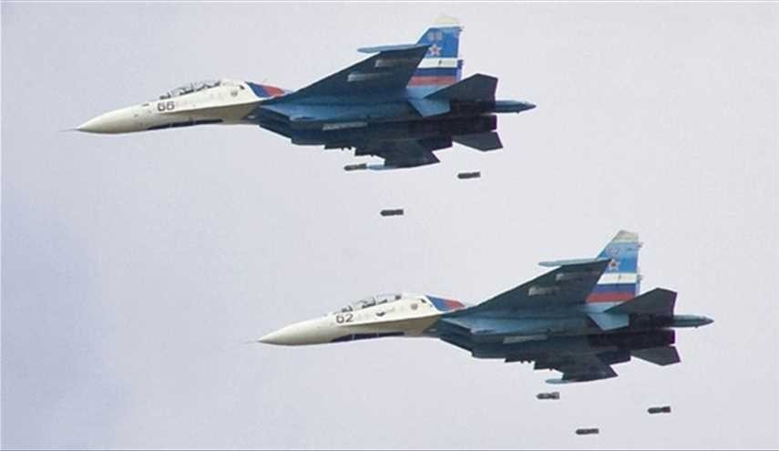 Russian Fighter Jets Strike ISIS Oil Tankers East of Homs