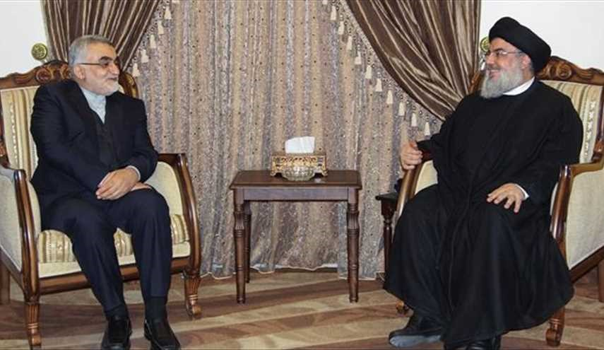 Senior Iranian Official Meets Hezbollah Secretary General in Beirut