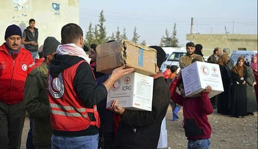 SARC Delivers Humanitarian Aid to Displaced Residents of Wadi Bardi