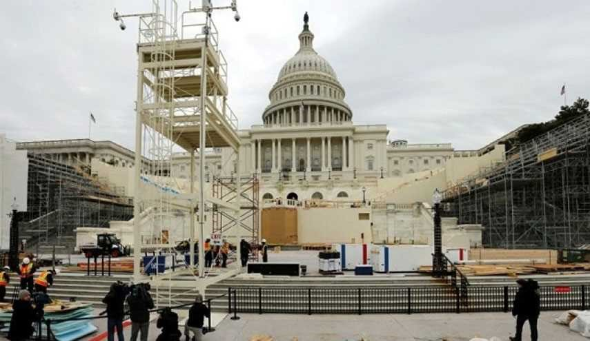 Massive Security Preparations under Way for Trump Inauguration