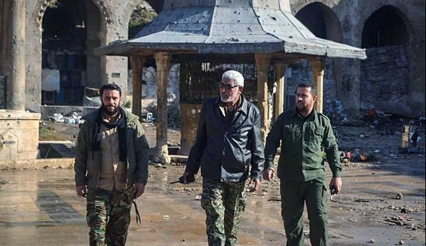Syria: Iraq's Hezbollah al-Nujaba Movement Securing Aleppo Neighborhoods