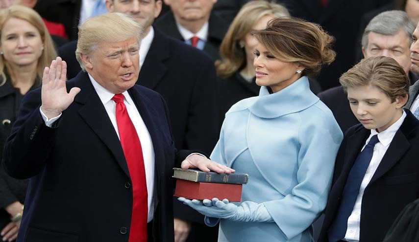 Donald Trump Sworn in as 45th President of United States