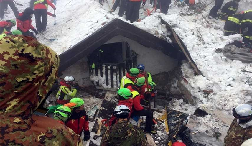 Italy Avalanche Death Toll Climbs to 14 with 17 Missing