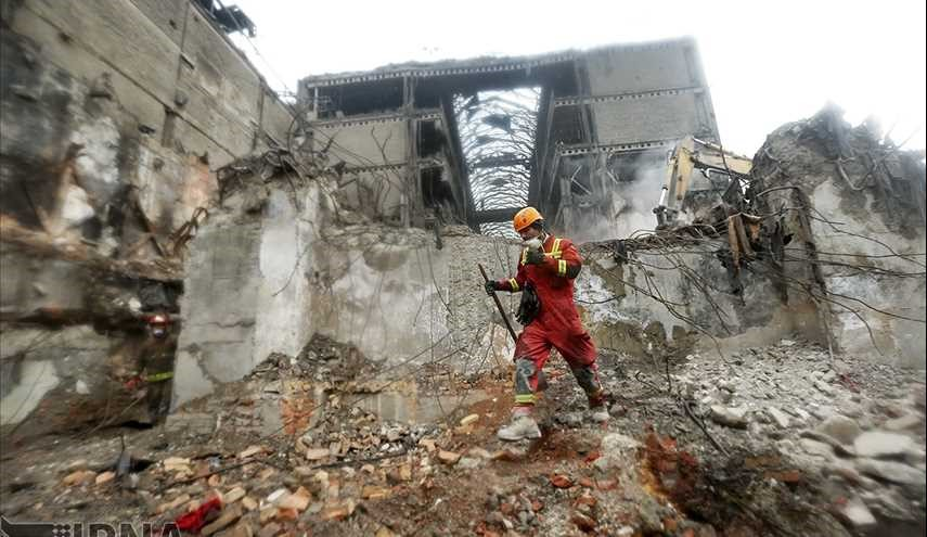 Plasco rubble removal operation ends