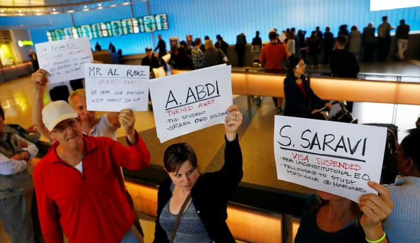 CHAOS AFTER TRUMP'S TRAVEL BAN