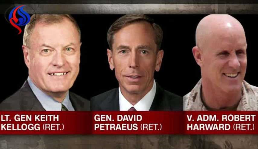 Petraeus, Kellogg, Harward: Meet Potential Flynn Replacements