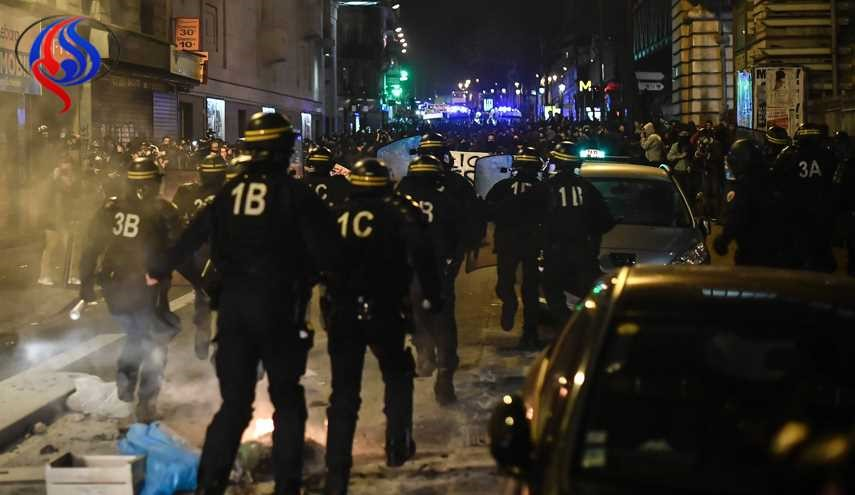 Clashes in Paris as Protests against Police Brutality Continue