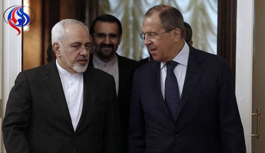 Iran's Zarif, Russia's Lavrov discuss Syria: Russian Foreign Ministry