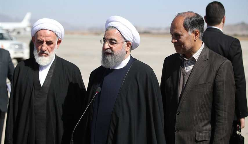 Rouhani arrives in Sistan and Baluchistan border province