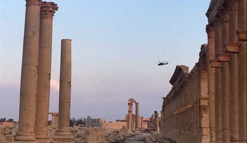 Syria: Army Soldiers Guarding Ancient City of Palmyra