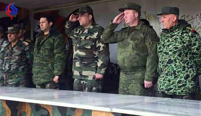 Russian Advisers Training Syrian Special Forces in Damascus