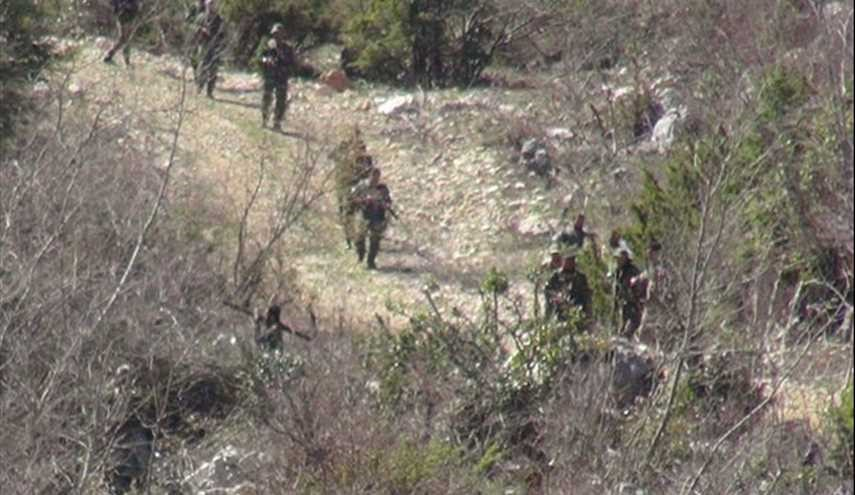 Syrian Defense Forces Conduct Military Drill in Lattakia Mountain