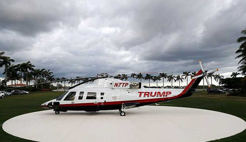 No-Fly Zone: Trump not Allowed to Use Personal Helicopter