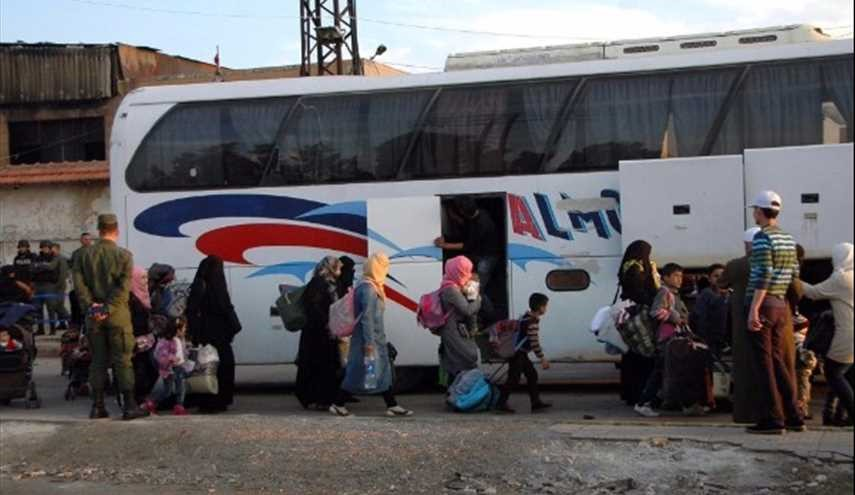 Syria: Evacuated Gunmen, Family Members from al-Wa'er Exceed 2,000