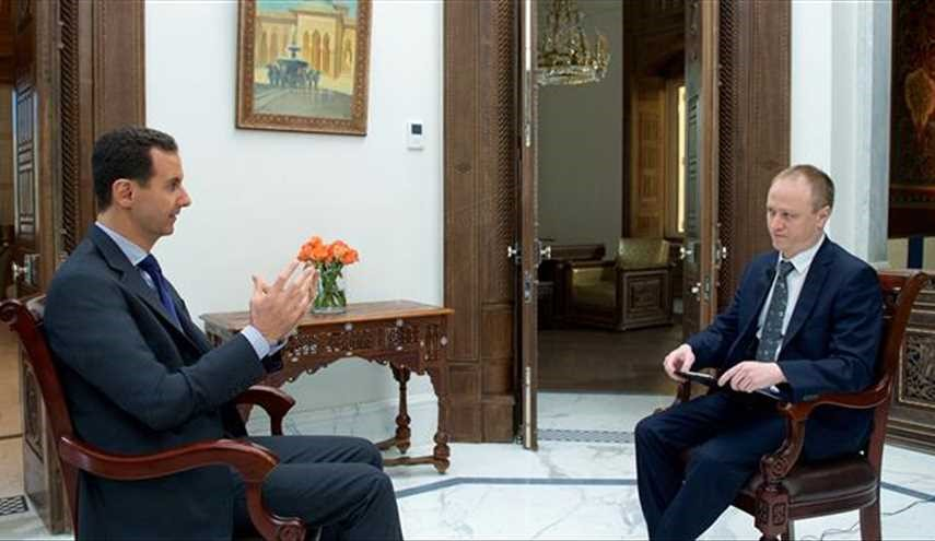 Assad: West fears impartial 'gas attack'