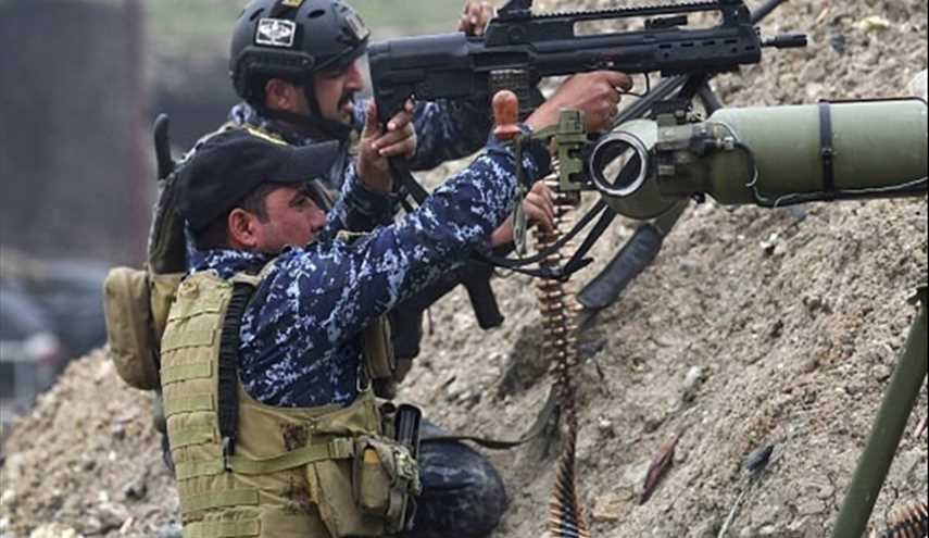 Iraqi Federal Police Forces in Clashes with ISIL in Western Mosul