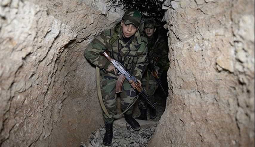 Syrian Army seizes control over vast tunnel network of terrorists in Eastern Damascus