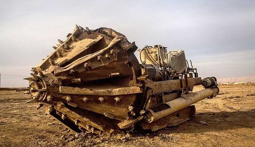 ISIS 'tunnel excavator'; Some of the ISIS weapons from Hitler's era!