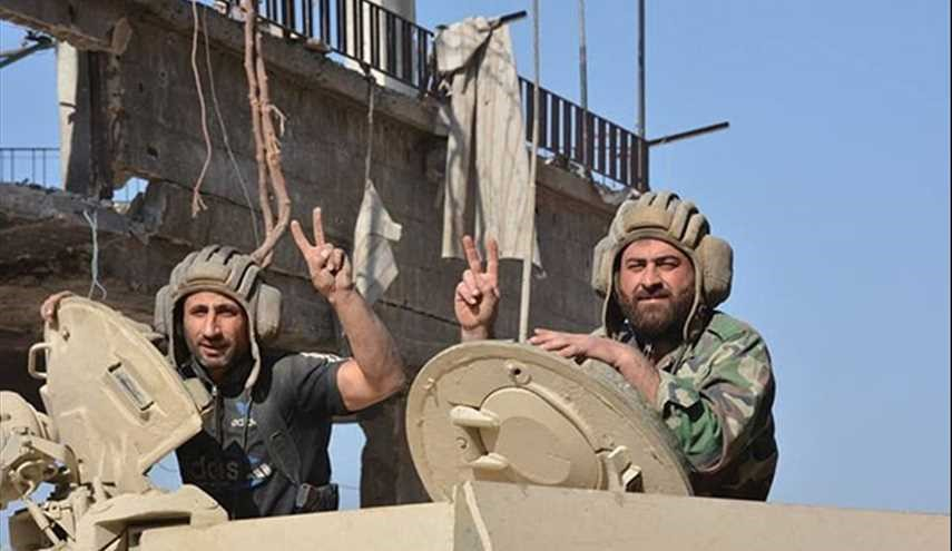 Syrian Army Makes Significant Gain against Terrorists in Eastern Damascus