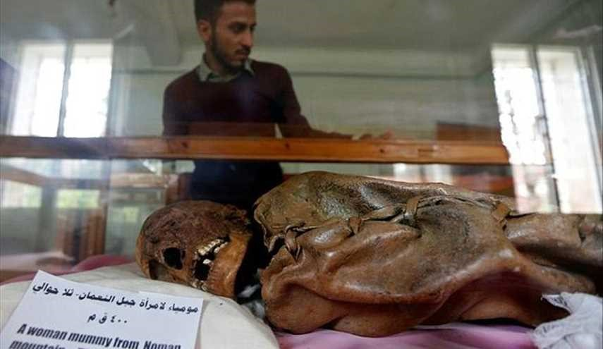 Yemen war threatens millennia-old mummies