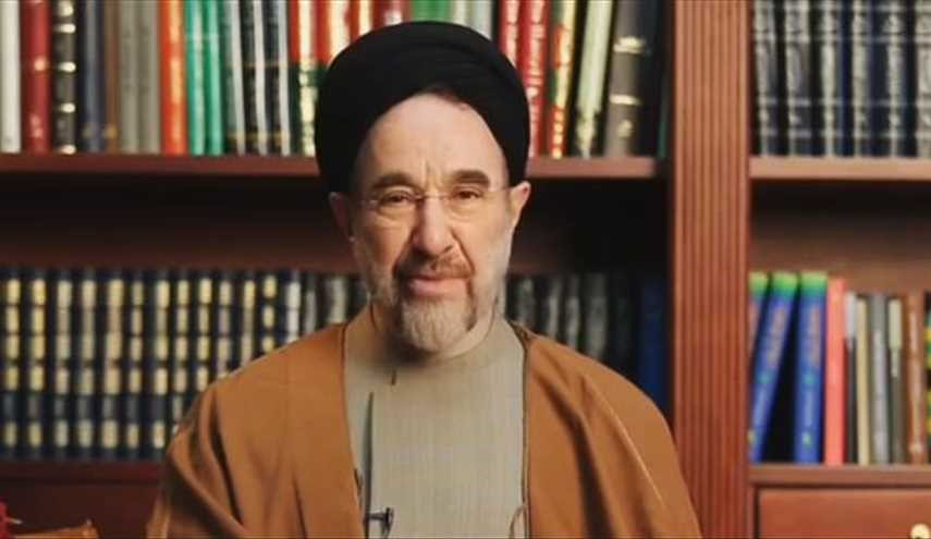 Former President Khatami calls on Iranian voters to re-elect Rouhani