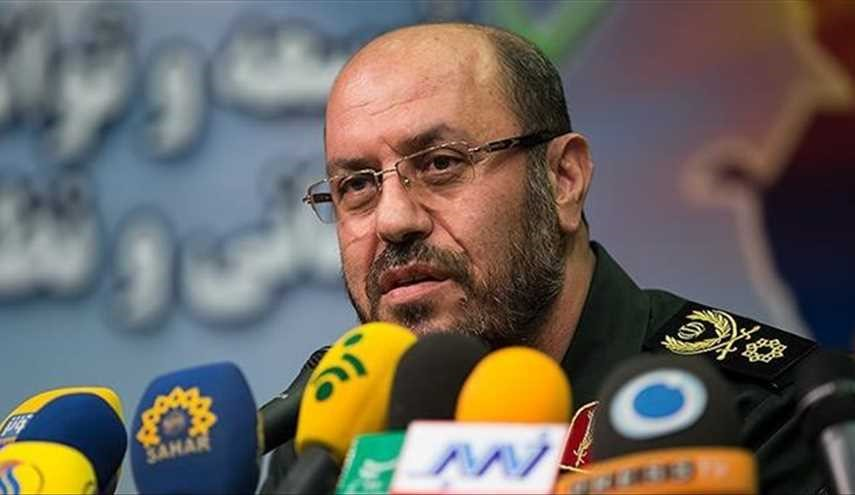 Iran's defense minister slams new US sanctions