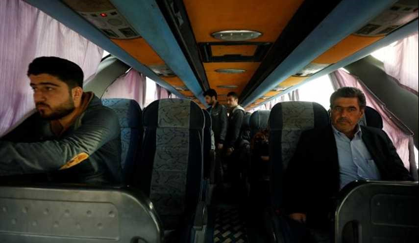 In Syria, a bus ride shows shifting map of war