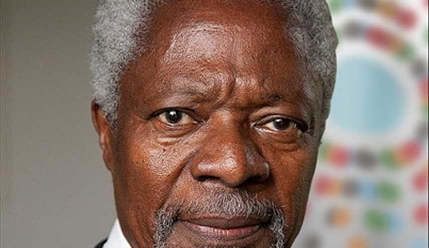 Kofi Annan says Trump should talk to Iran