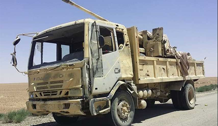 ISIL Leave Its Military Hardware behind as It Withdraws from More Lands