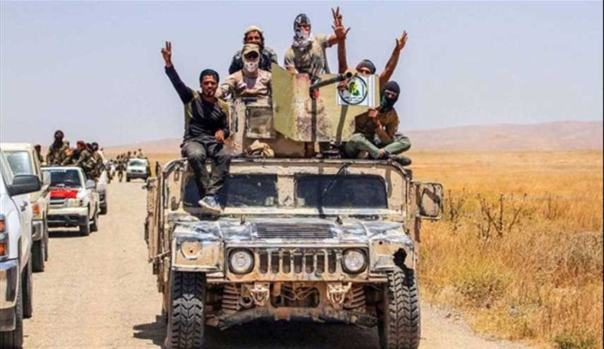 Iraqi PMF win back more territories from ISIS at border with Syria