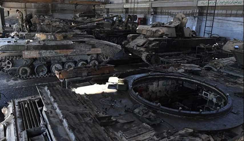 Damascus Inside Syrian Army's Tank Factory