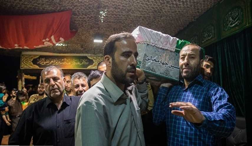 Iran Funeral of Terror Attack Victims Held in Tehran