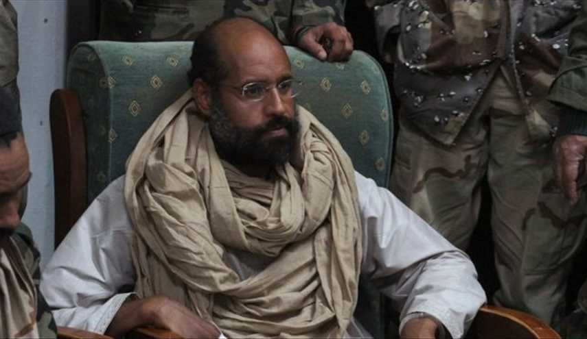 Gaddafi's son said to be freed in Libya, whereabouts unclear