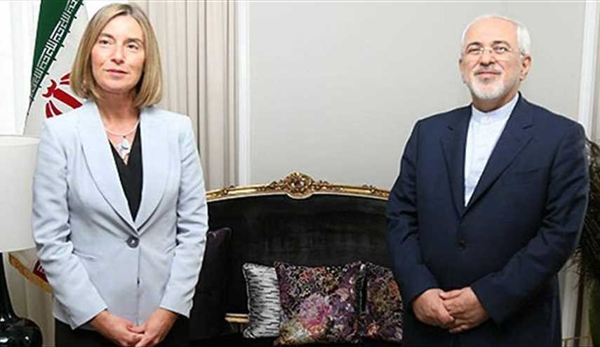 Iran's Zarif, EU's Top Diplomat Meet in Oslo