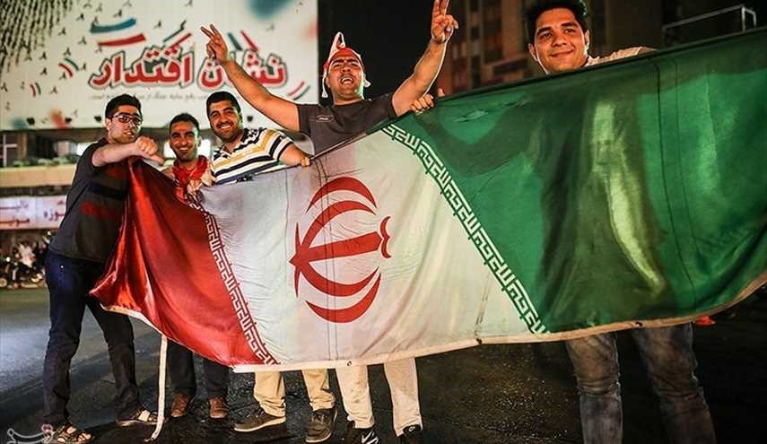Iran Celebrates after Team Melli Book Ticket to 2018 World Cup (2)