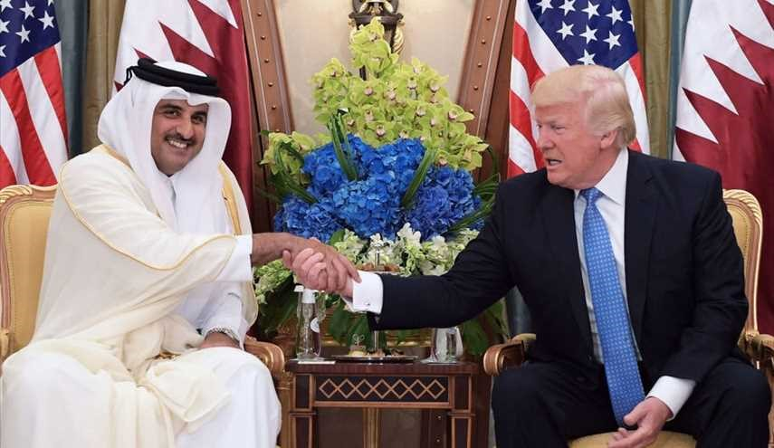 Trump sells Qatar $12 billion of U.S. weapons days after accusing it of funding terrorism