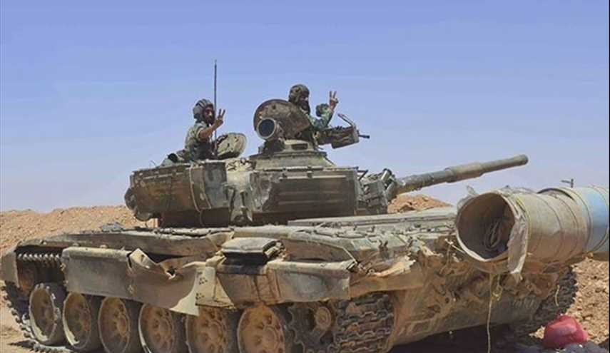 Syrian Army Fortifies Positions at Border with Iraq