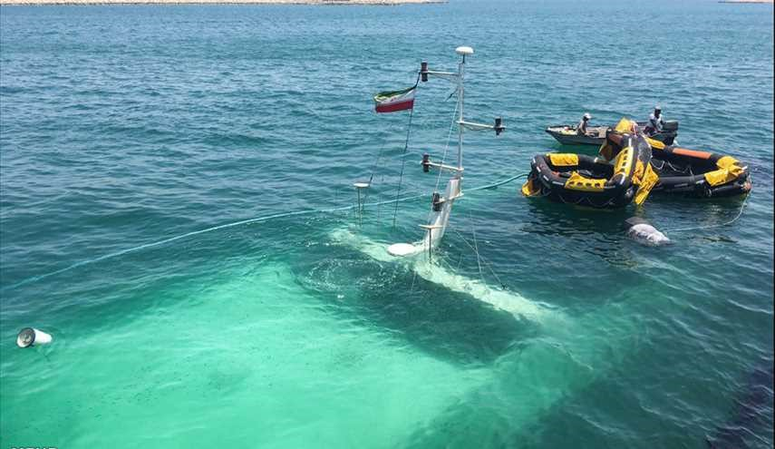 Denna Cruise Ship sinks in Kish Island