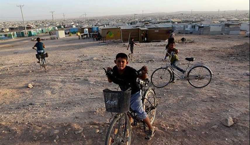 Daily Life in Syrian Refugee Camp