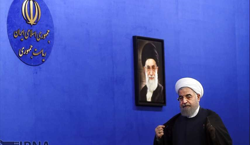 Rouhani's meeting with families of martyrs and warriors