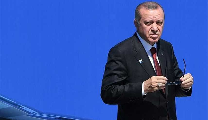 Turkey's Erdogan Says fine after Feeling Unwell in Prayers