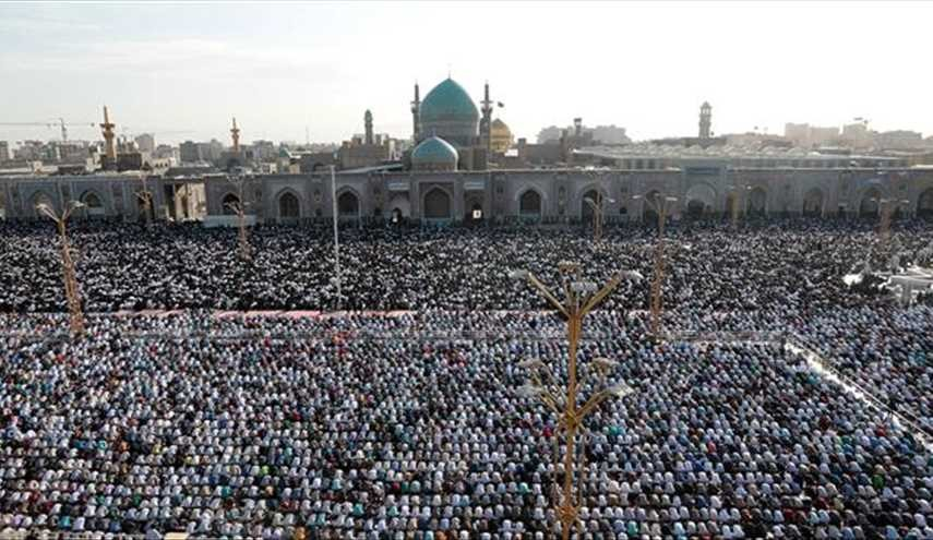 Millions of Iranians Mark Eid al-Fitr with Prayers