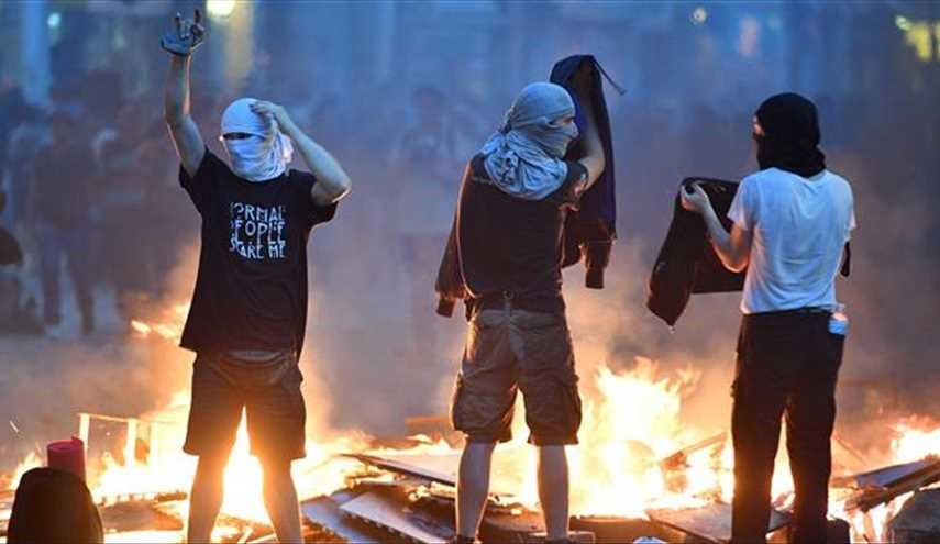 200 protesters, officers injured in violent anti-G20 rallies in Germany