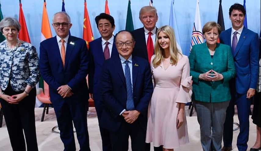 Ivanka Trump under fire after taking seat among world leaders at G20
