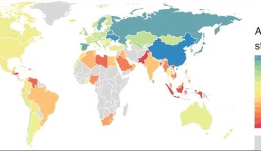 Is your country between the laziest in the world?
