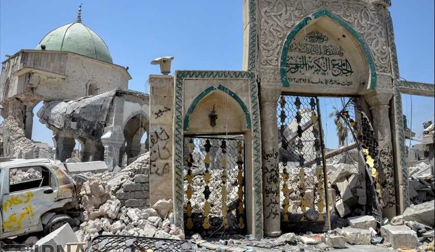 900 year old al-Nouri mosque; bitter narrative of ISIL crimes / images