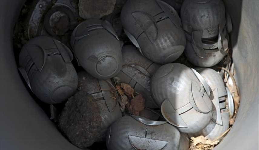 Syria's unexploded cluster bombs