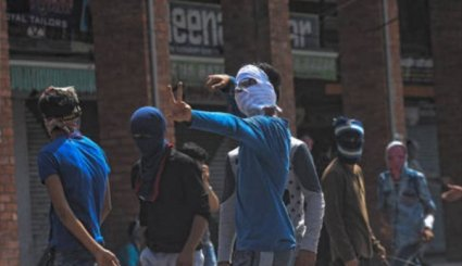 Kashmir Violent Protest Erupts in Srinagar