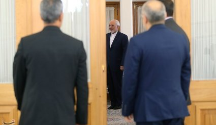 Zarif's meetings with foreign ambs.