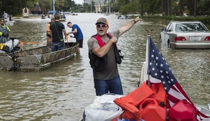 Texas Struggles with Harvey Flooding